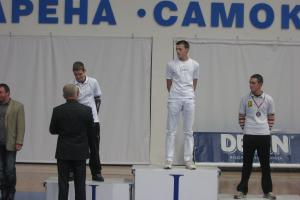 Prvo mesto u kategoriji Kadeti olimpik, Stefanović Petar