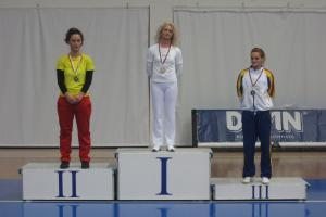 Prvo mesto u kategoriji Seniorke olimpik, Svetlana Nikolić